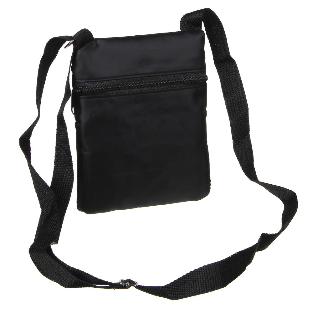 PAVO Сумка для документов, полиэстер, 22,5х20см, цвет черный
