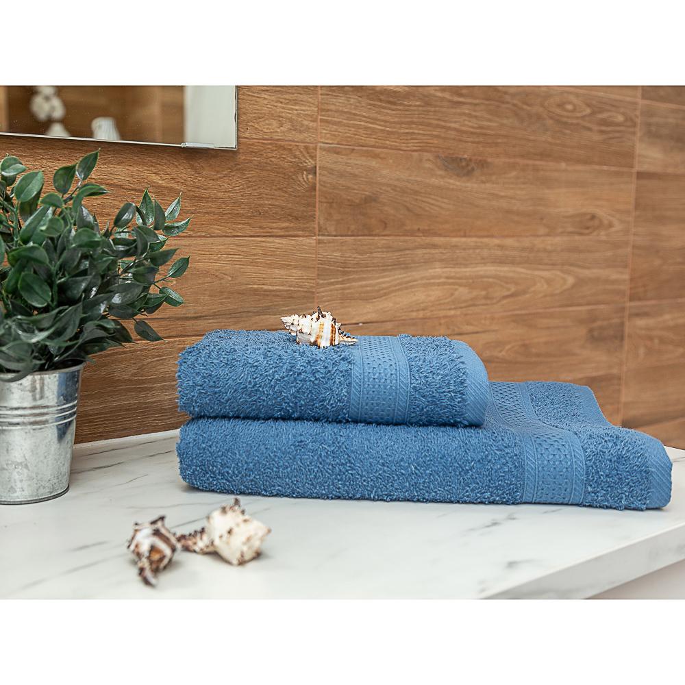 PROVANCE Наоми Полотенце махровое, 100% хлопок, 50х90см, 360гр/м, синий