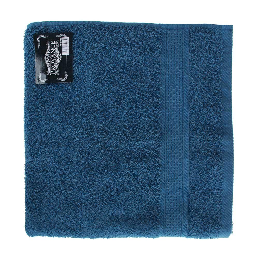 PROVANCE Наоми Полотенце махровое, 100% хлопок, 70х130см, 360гр/м, синий