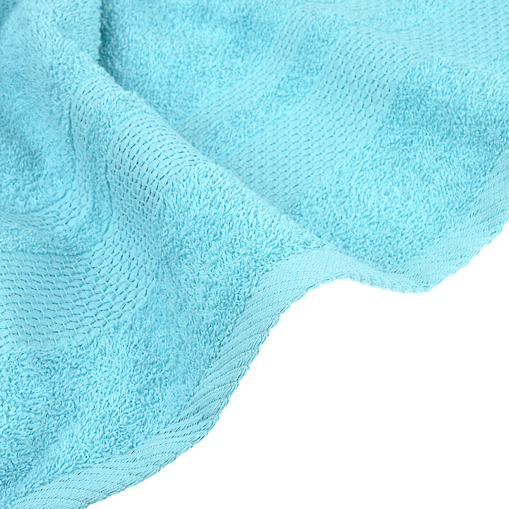 PROVANCE Наоми Полотенце махровое, 100% хлопок, 70х130см, 360гр/м, морская волна
