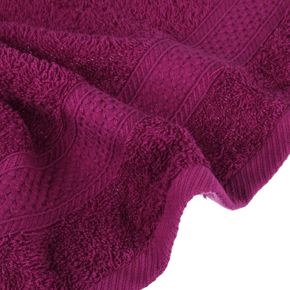 PROVANCE Наоми Цветные истории Полотенце махровое, 100% хлопок, 50х90см, 360гр/м, сливовый