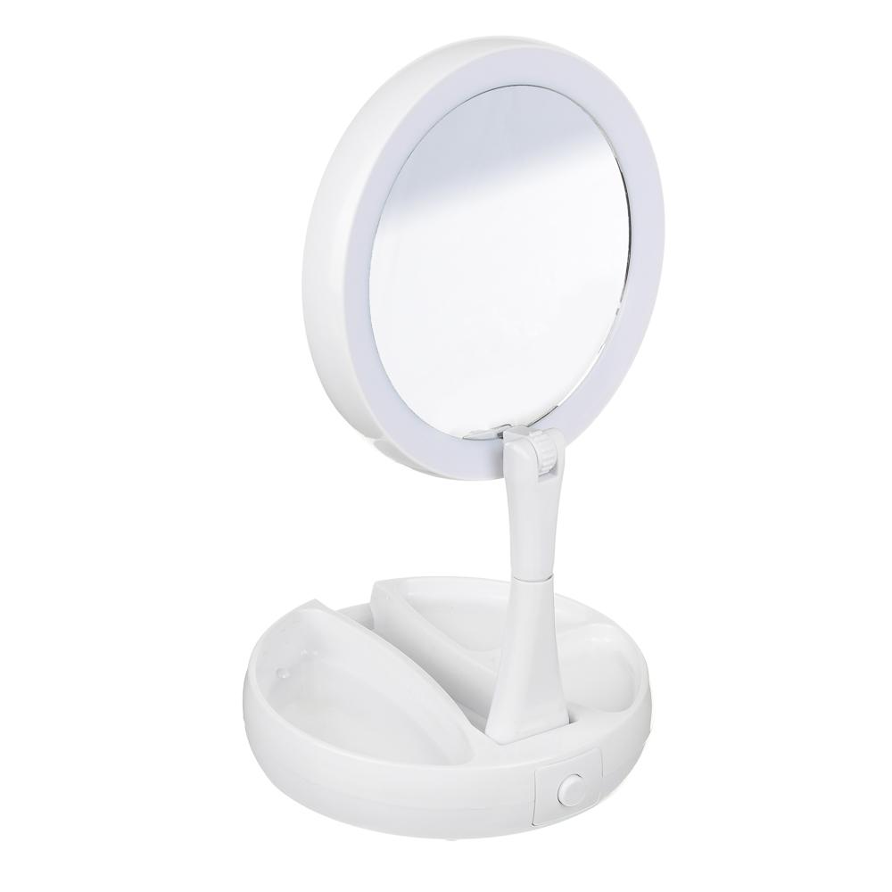 Зеркало с LED-подсветкой ЮниLook, d.15,5 см