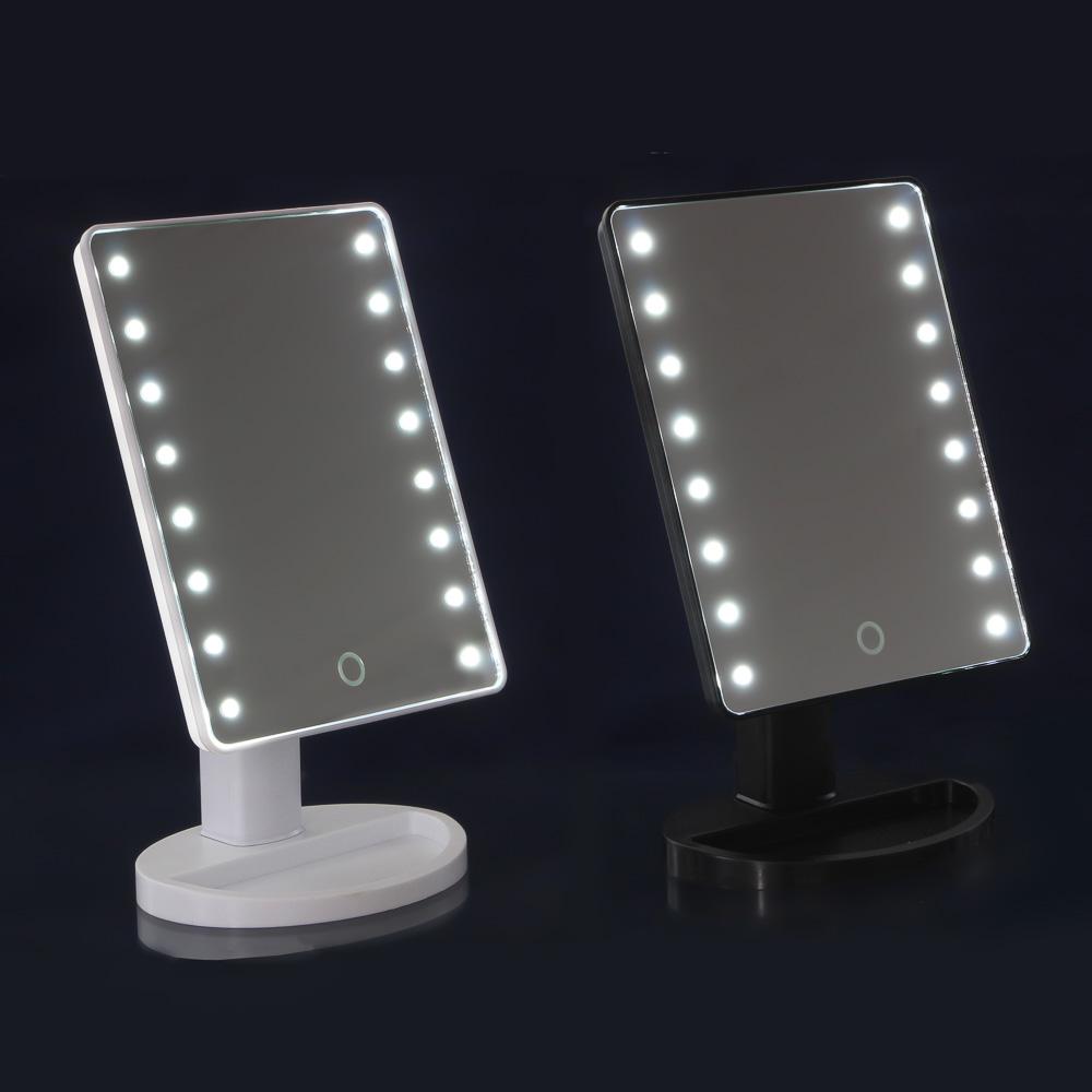 Зеркало с LED-подсветкой ЮниLook, 16,7х27 см, 2-3 цвета
