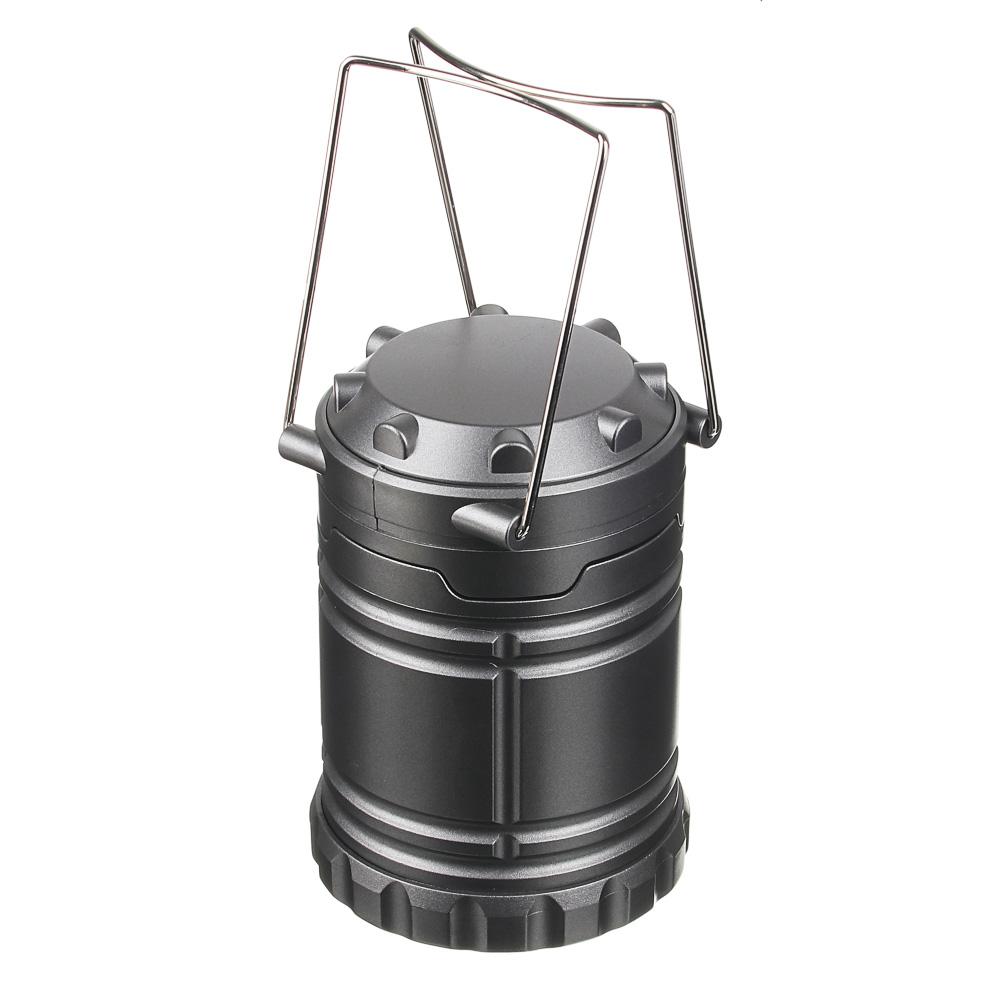 ЧИНГИСХАН Фонарь светильник, 6 LED, 3xAA, 1 режим, пластик