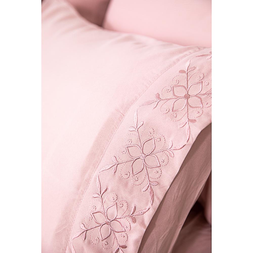 PROVANCE Вивьен Комплект пост белья с вышивкой 1,5 (4пр.), полисатин, ПЭ, 85 гр/м, 4 цвета