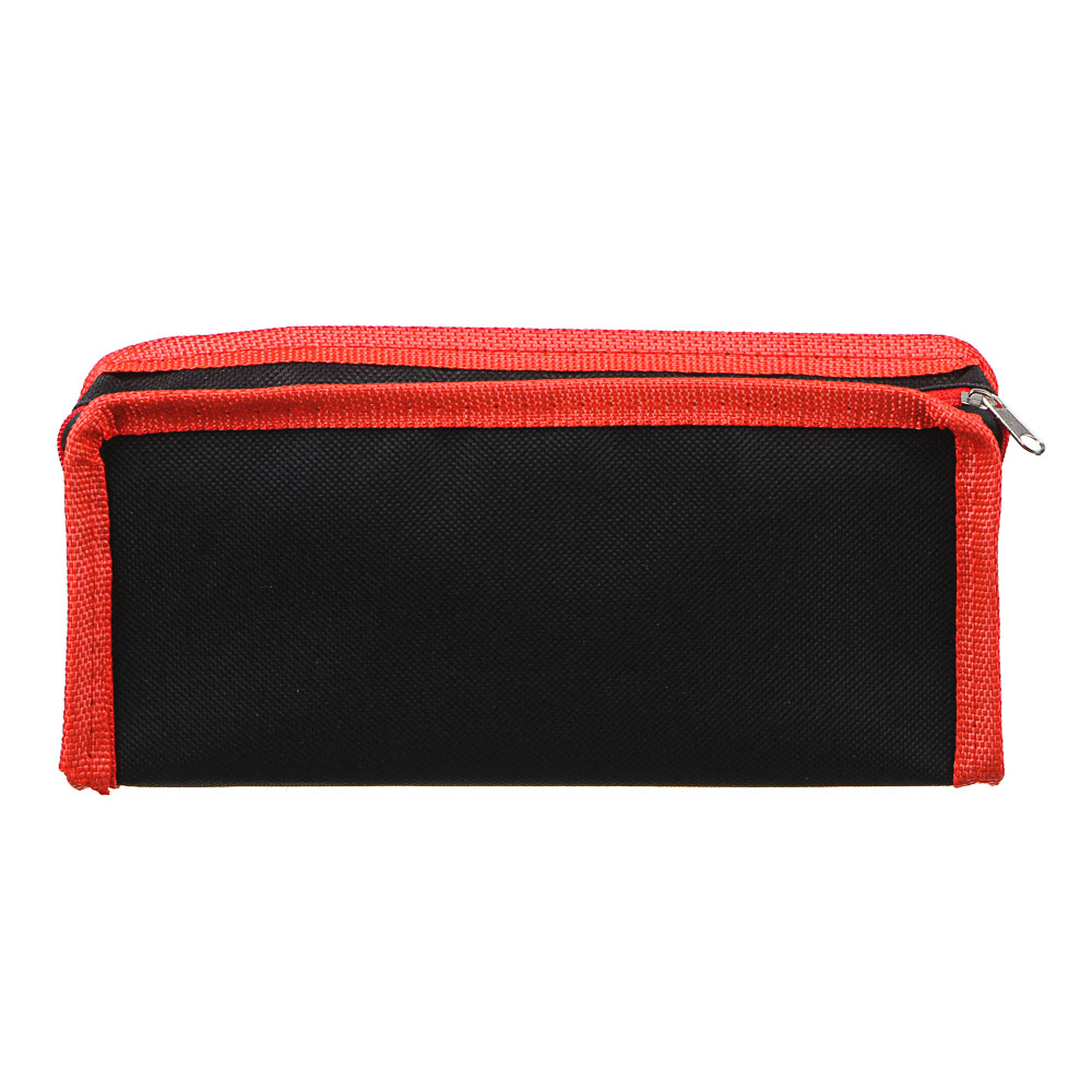Мото Фэктори Пенал мягкий прямоугольный, 21х9х4,5см, ПЭ, 1 карман, вставка из иск.кожи с печатью