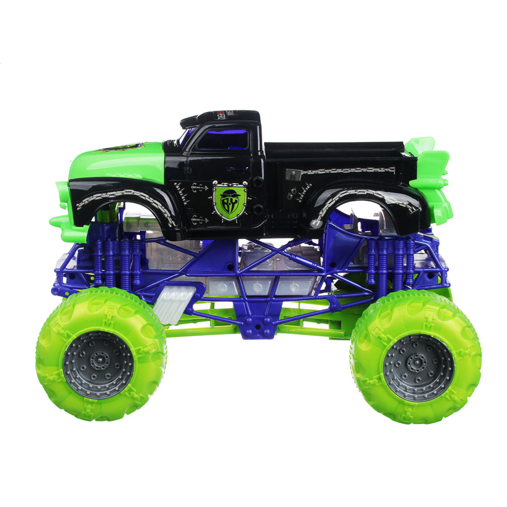 """BY Машинка """"Сказочная колесница"""", свет, звук, инерция, ABS, 3AG13, 31,5х21х21см, 3 цвета"""