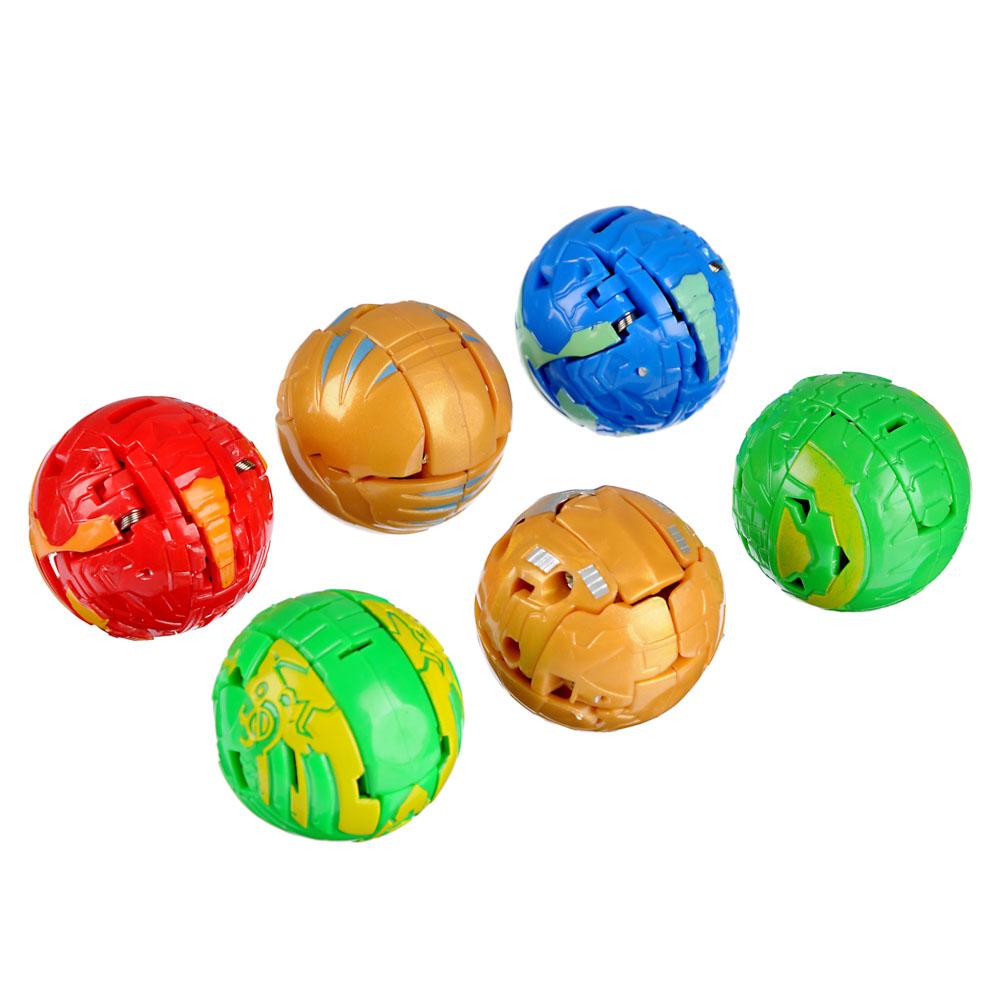 BY Боевые шары, ABS, магнит, картон, 24,5х17,5х5см, 7 дизайнов