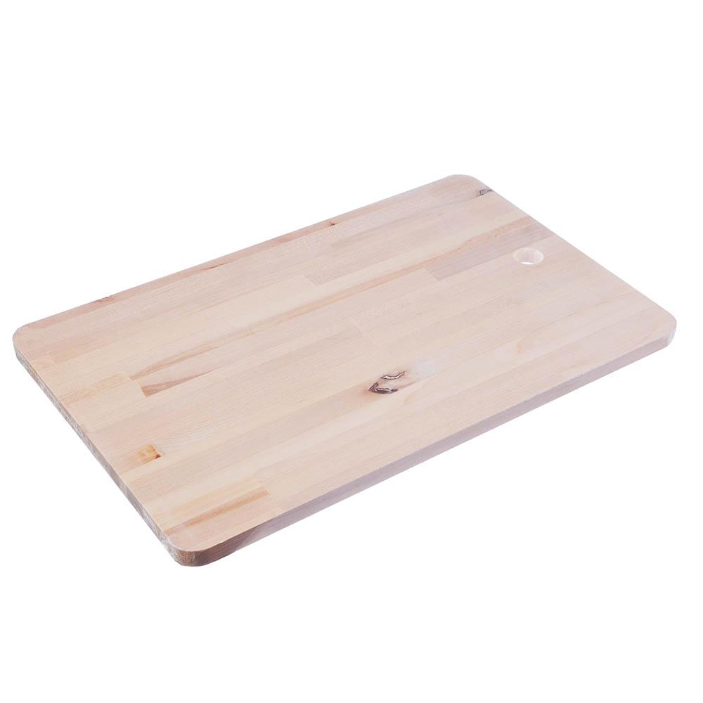 Доска разделочная 22x35x1,2 см, береза