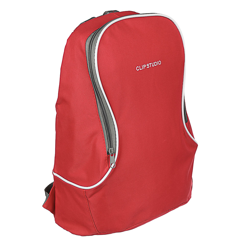 Рюкзак подростковый 40x30х17см, 1отд. на молнии, полиэстер, 3 цвета, ПРОМО