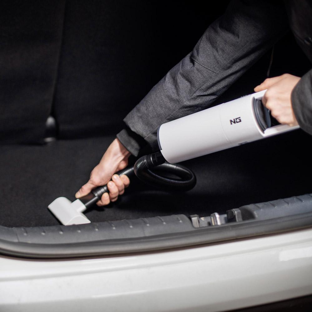 NG Пылесос автомобильный, 150Вт, 2 насадки, сухая и влажная уборка, провод 3м, 12В