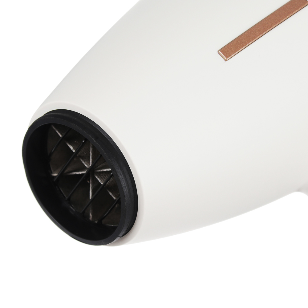 LEBEN Фен для волос с АС мотором 2000Вт, шнур 2м, 2 скорости, 3 темп. режима, пластик