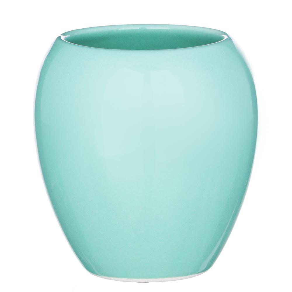 "VETTA Стакан для ванной комнаты, ""Море"", керамика, 2 цвета"