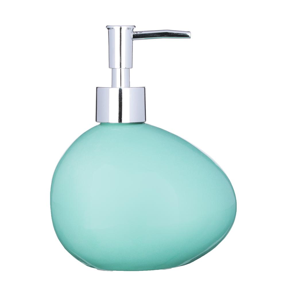 "VETTA Дозатор для жидкого мыла, ""Море"", керамика, 2 цвета"
