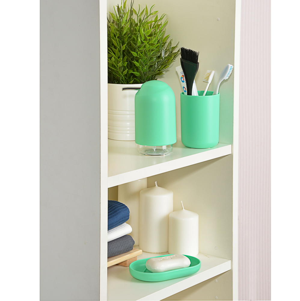 "VETTA Дозатор для жидкого мыла, ""Фреш"", пластик, 7,4х13,8см, 2 цвета"
