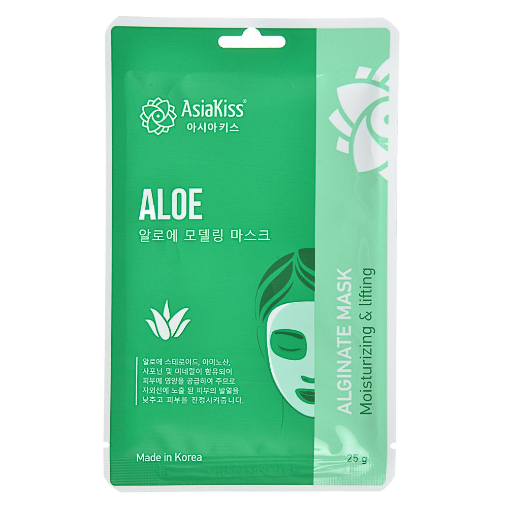 Маска для лица альгинатная с коллагеном, с экстрактом зеленого чая, с золотом и улиткой, 25г