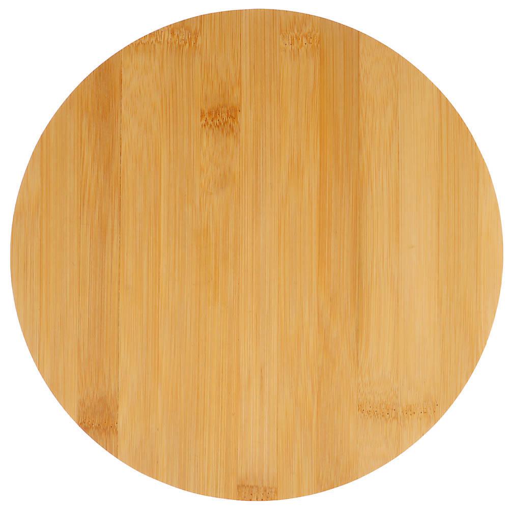 VETTA Гринвуд Доска разделочная бамбук, круглая, 26х0,9см