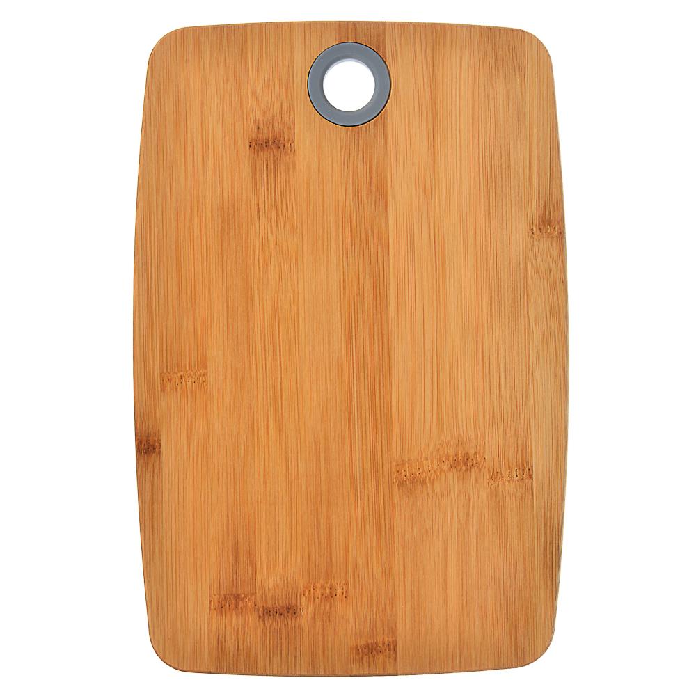VETTA Гринвуд Доска разделочная бамбук, силикон, 30х20х1,0см