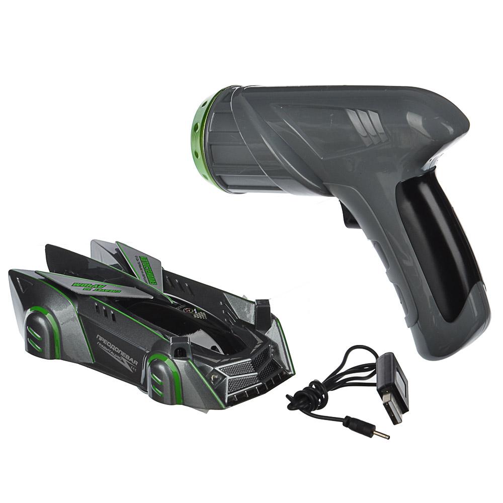 ИГРОЛЕНД Автомобиль-стенолаз с ИК пультом, ABS, 27,5х21х8см, 3 дизайна