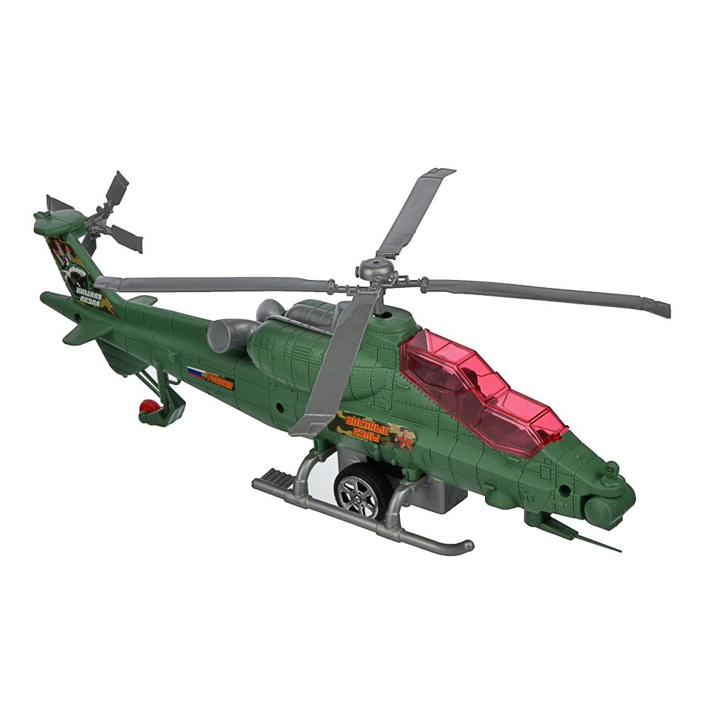 ИГРОЛЕНД Вертолет с механическим стартером, PP, 29-30х10-, 2 дизайна