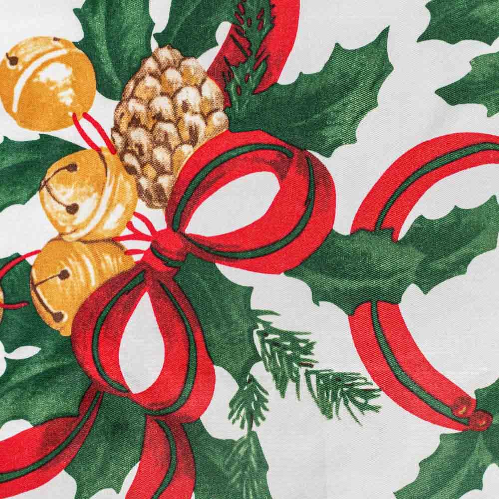 PROVANCE Новогодняя Скатерть текстильная с водоотталкивающей пропиткой, 140x180см, 100% ПЭ, 3 диз.