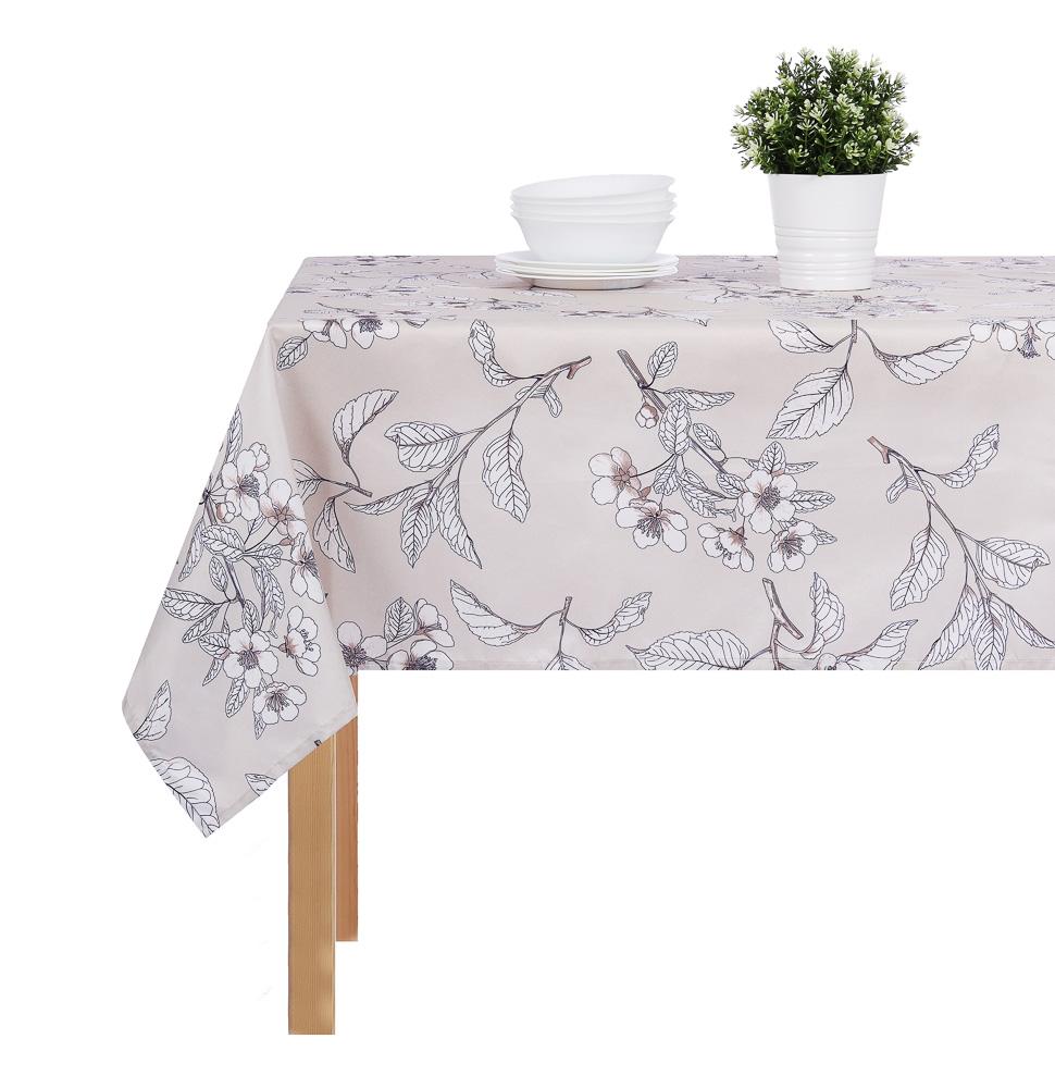 PROVANCE Гармония Скатерть текстильная с водоотталкивающей пропиткой, 140x180см, 100% ПЭ, 4 дизайна