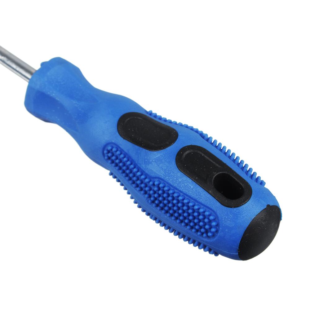 РОКОТ Отвертка с прорезиненной ручкой 20см PH2 5.5*100мм