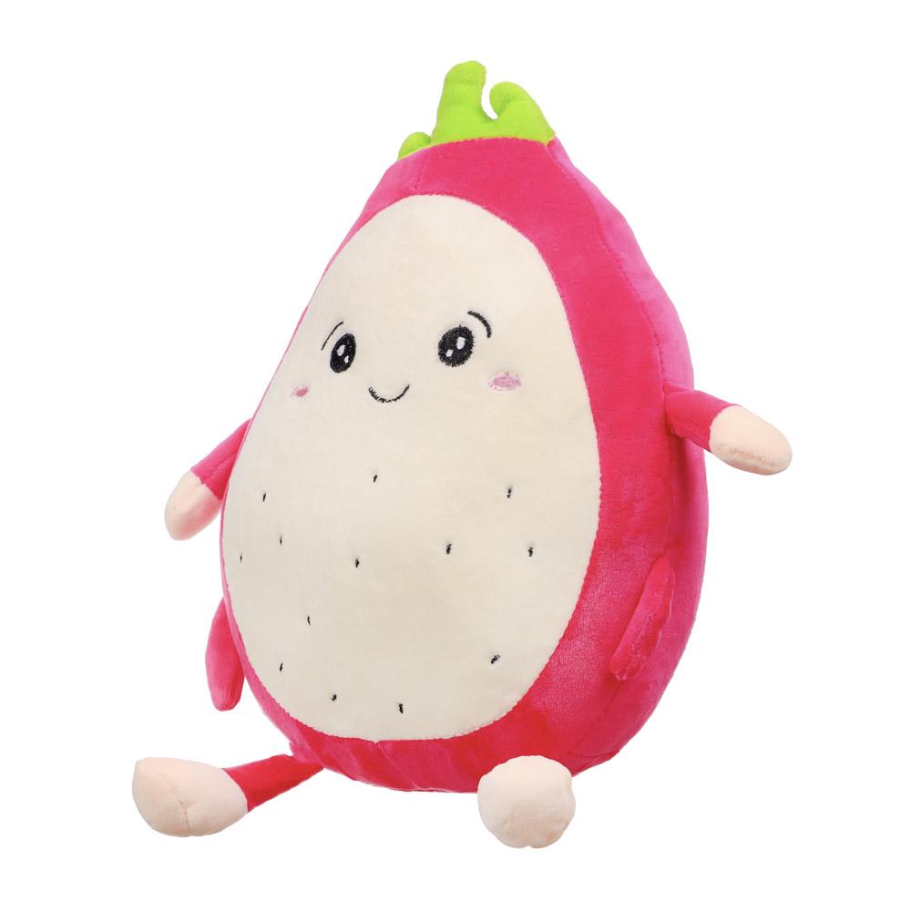 МЕШОК ПОДАРКОВ Игрушка мягкая в виде фруктов, полиэстер, 27-30см, 2 дизайна