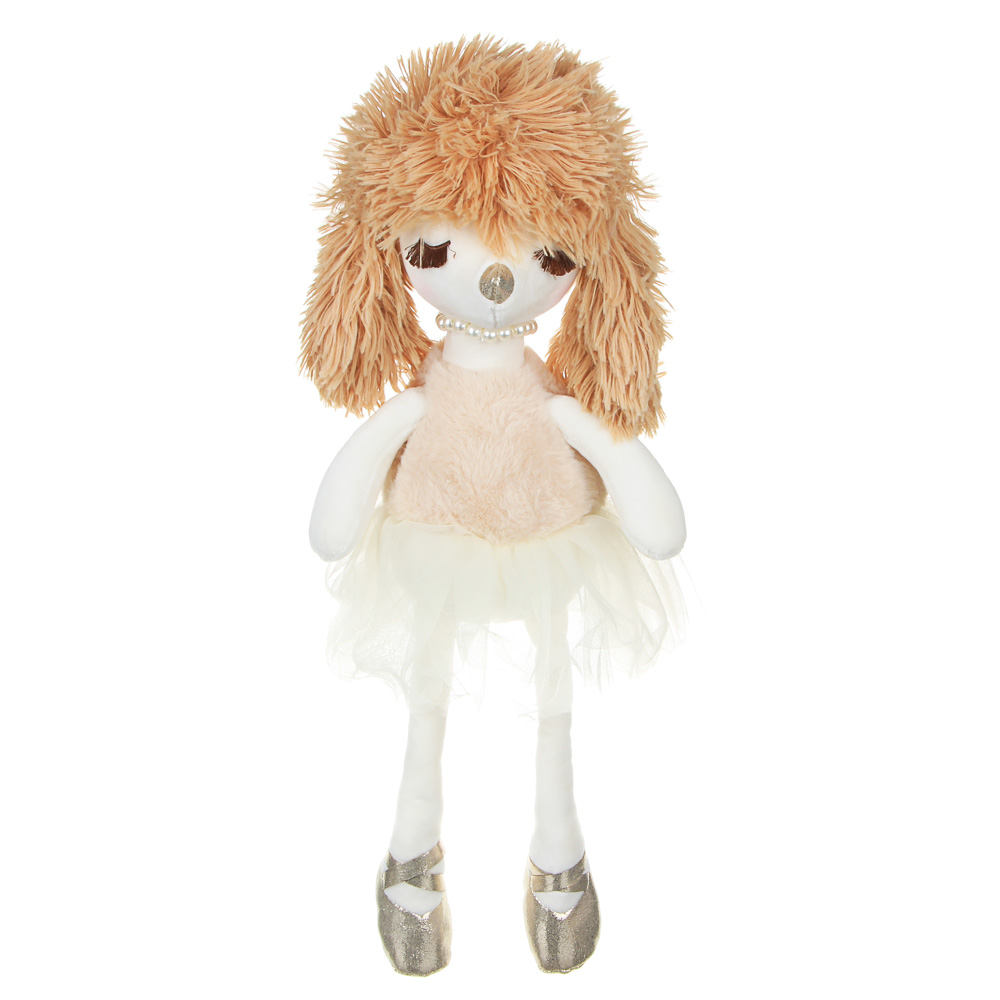 МЕШОК ПОДАРКОВ Игрушка мягкая в виде гламурных собачек, 35-40см, полиэстер, 3 цвета
