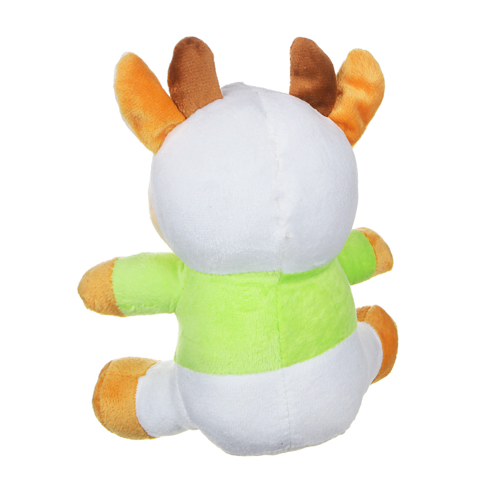 МЕШОК ПОДАРКОВ Игрушка мягкая бычок, 19см, полиэстер, 2 цвета