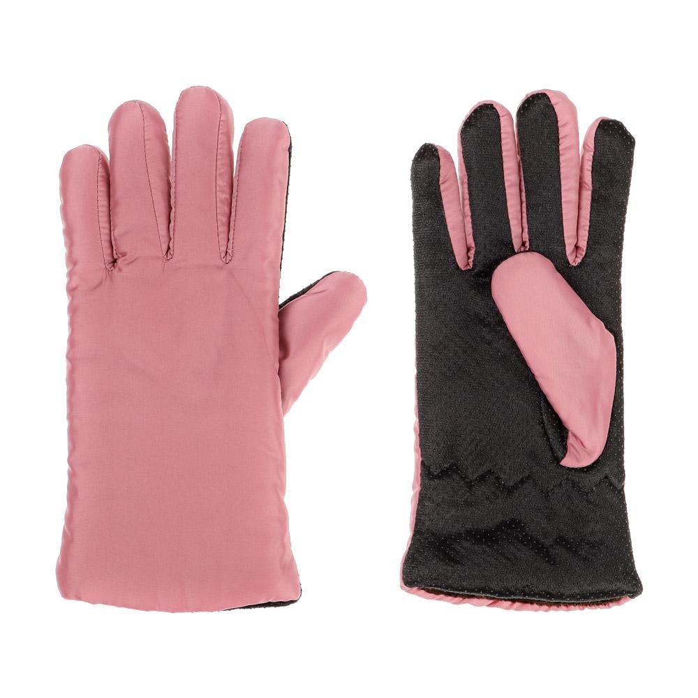 Перчатки женские горнолыжные, р-р 20, 100% полиэстер, 3 цвета, ПВ20-27