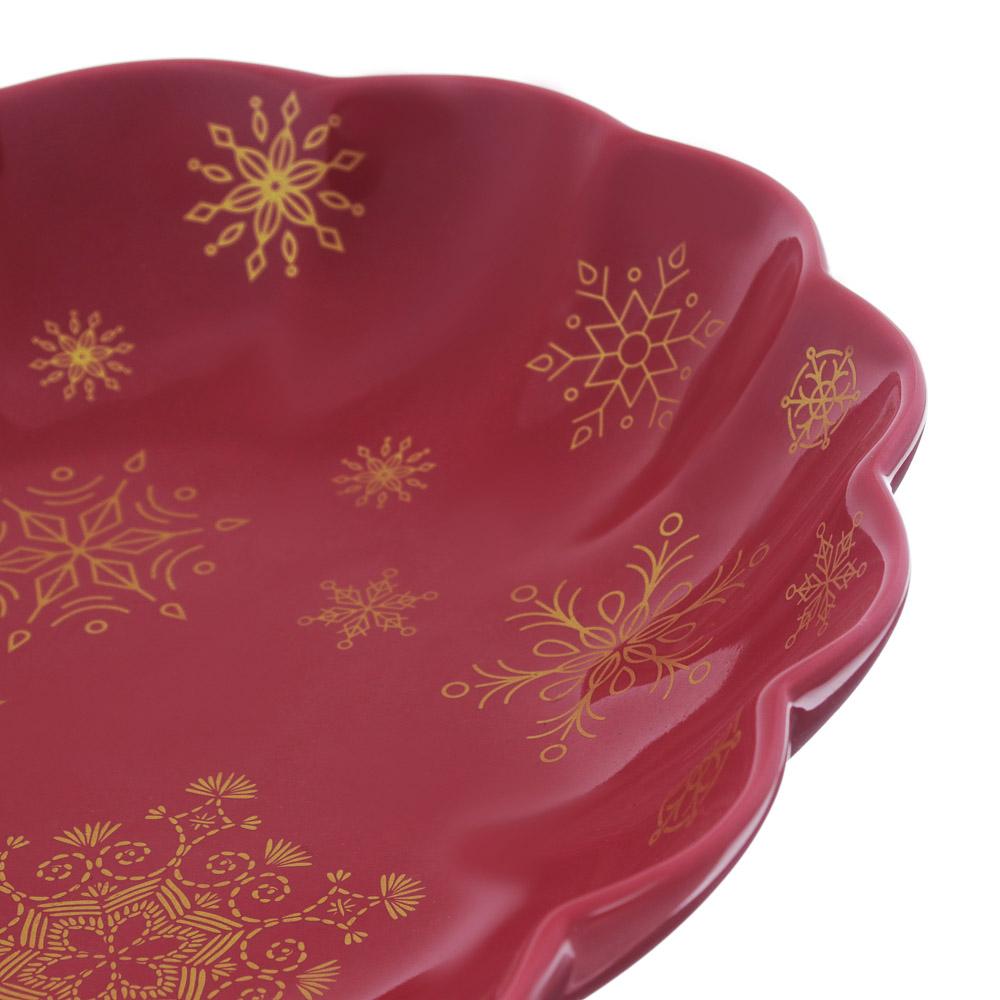 MILLIMI Волшебство Блюдо овальное 36х26,5х5см, костяной фарфор