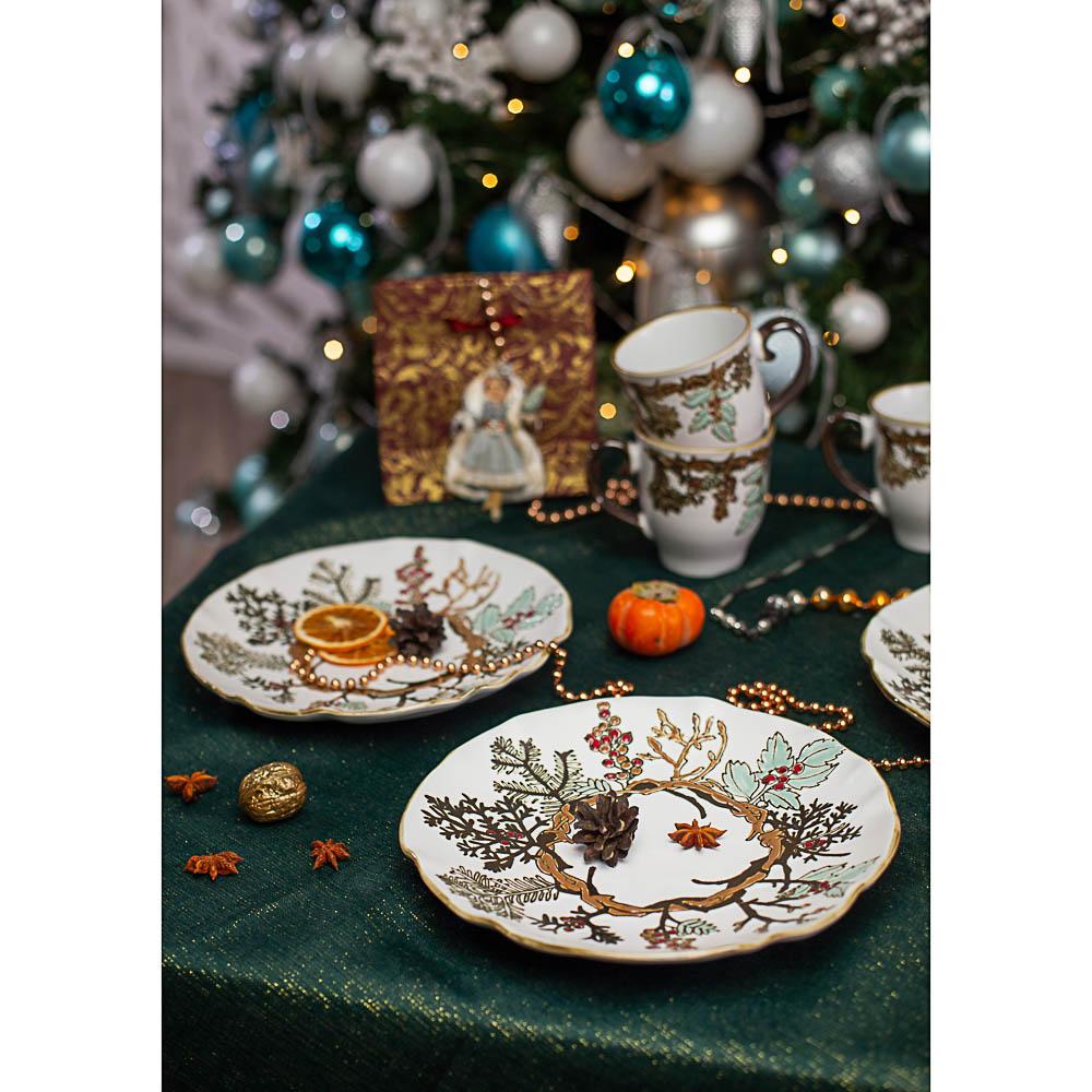 MILLIMI Рождество Салатник 19х6см, керамика