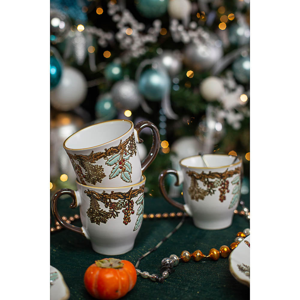 MILLIMI Рождество Кружка 500мл, керамика