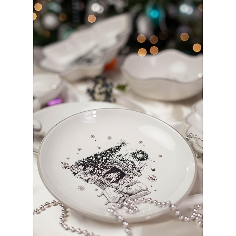 MILLIMI Чудесная ночь Блюдо круглое 22х3см, керамика