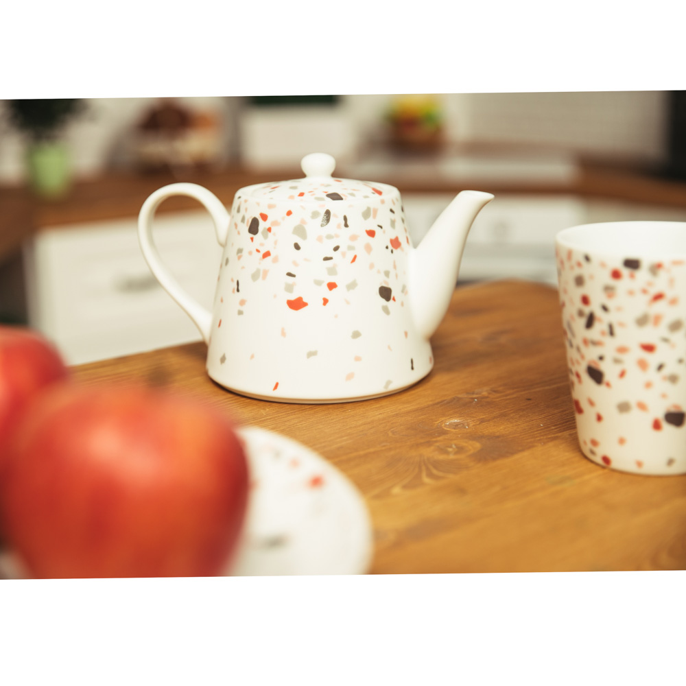 MILLIMI Мозаика Чайник заварочный 850мл, керамика