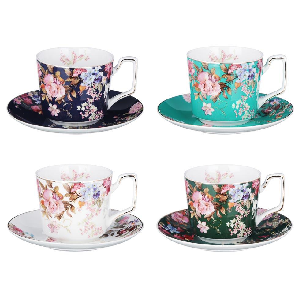 MILLIMI Японский сад Набор чайный 2 пр., 260мл, костяной фарфор, 4 дизайна