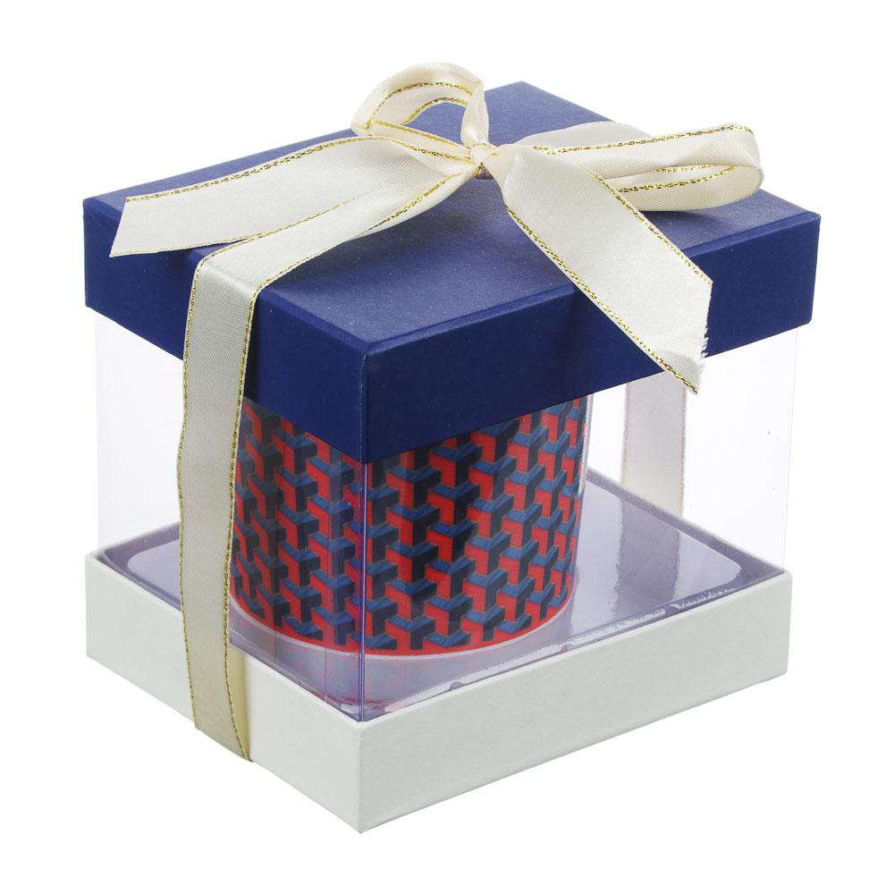 MILLIMI Эллегия Кружка 380мл, костяной фарфор, 4 дизайна, подарочная упаковка