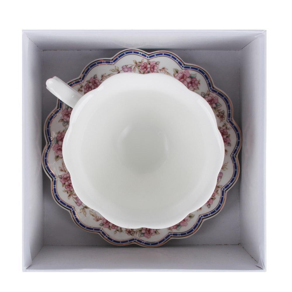 MILLIMI Мария-Антуанетта Набор чайный 2 пр, 220мл, костяной фарфор, 2 дизайна