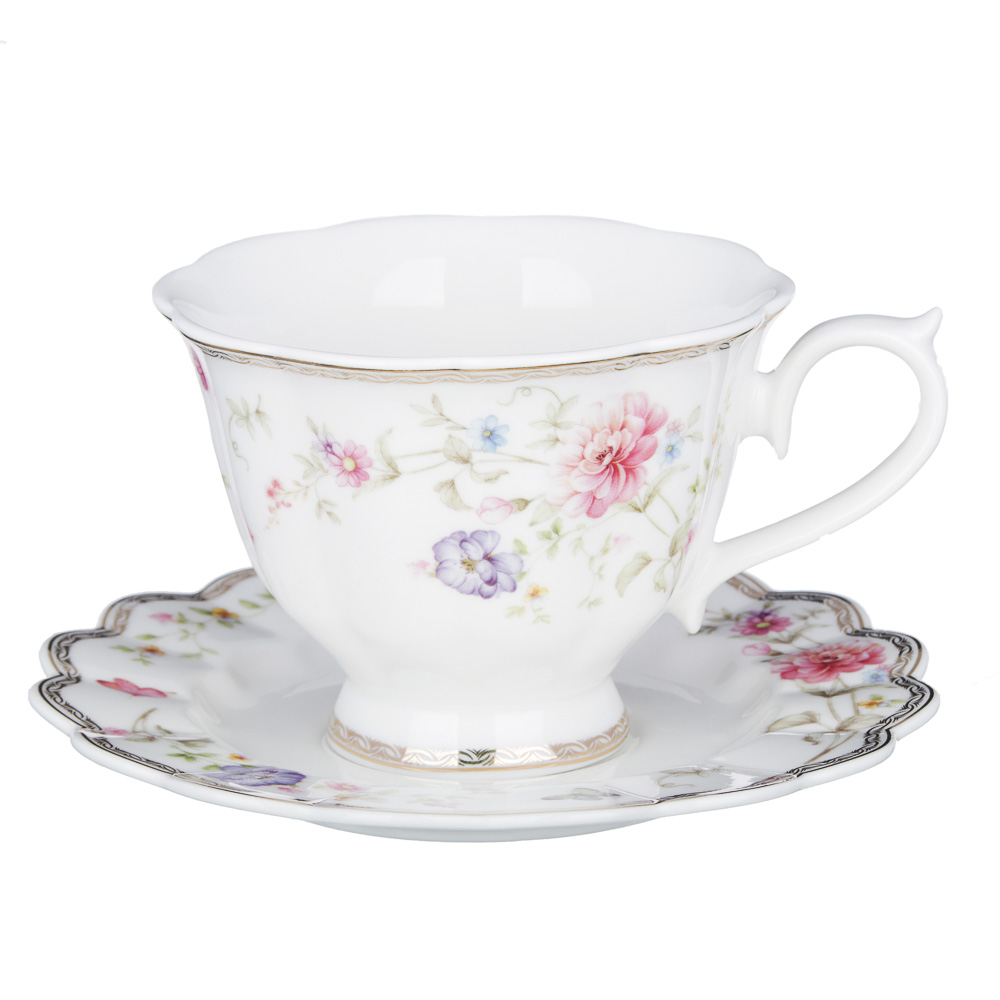 MILLIMI Антуанетта Набор чайный 12 пр., 220мл, костяной фарфор