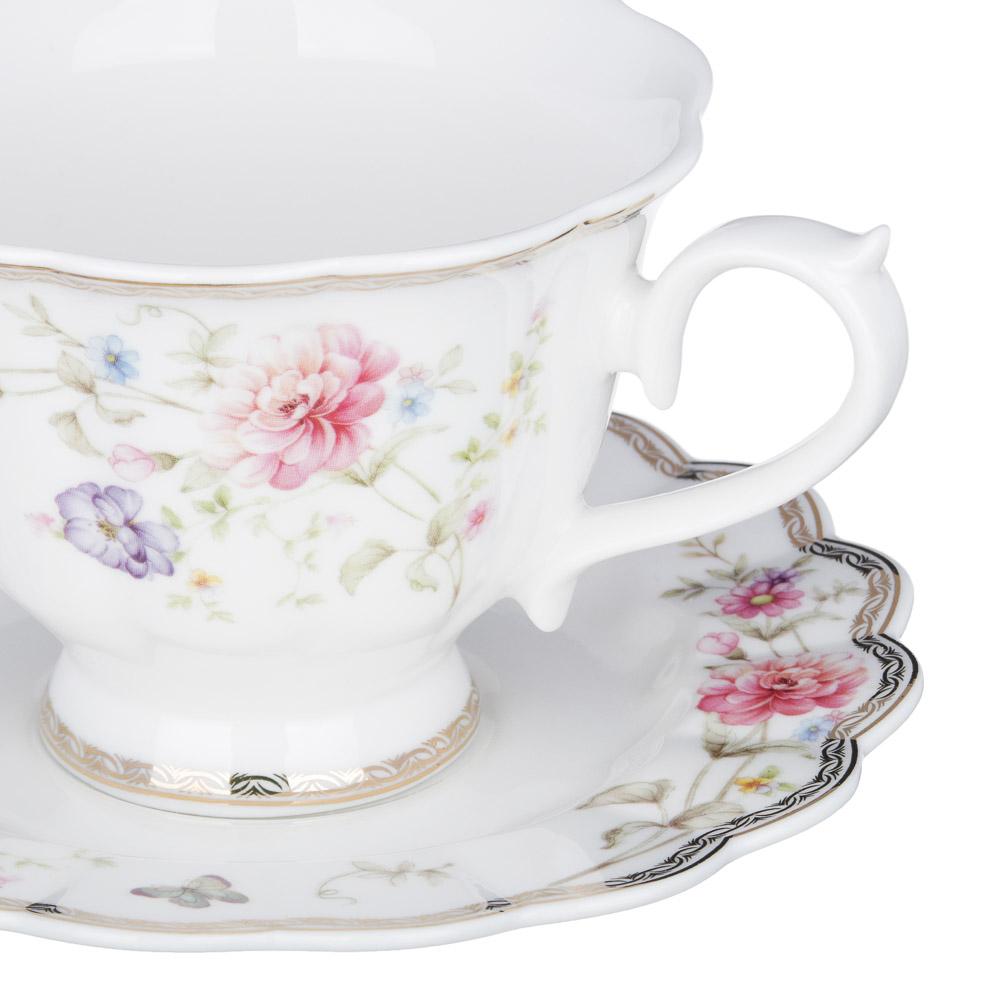 MILLIMI Мария Набор чайный 12 пр., 220мл, костяной фарфор
