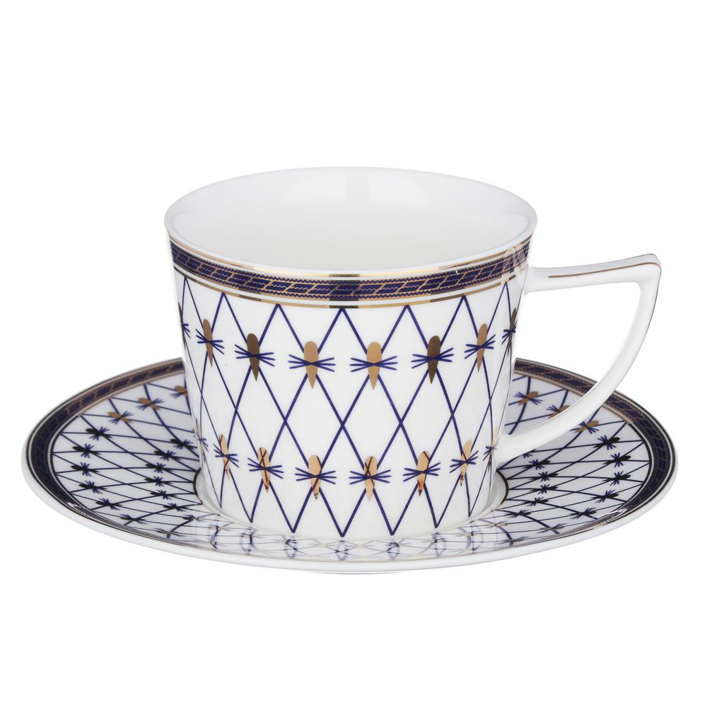 MILLIMI Монте-Кристо Набор чайный 4 пр., 250мл, костяной фарфор
