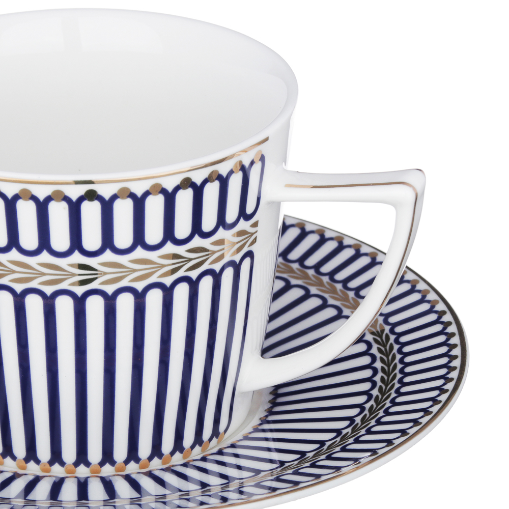 MILLIMI Граф Набор чайный 12 пр., 250мл, костяной фарфор
