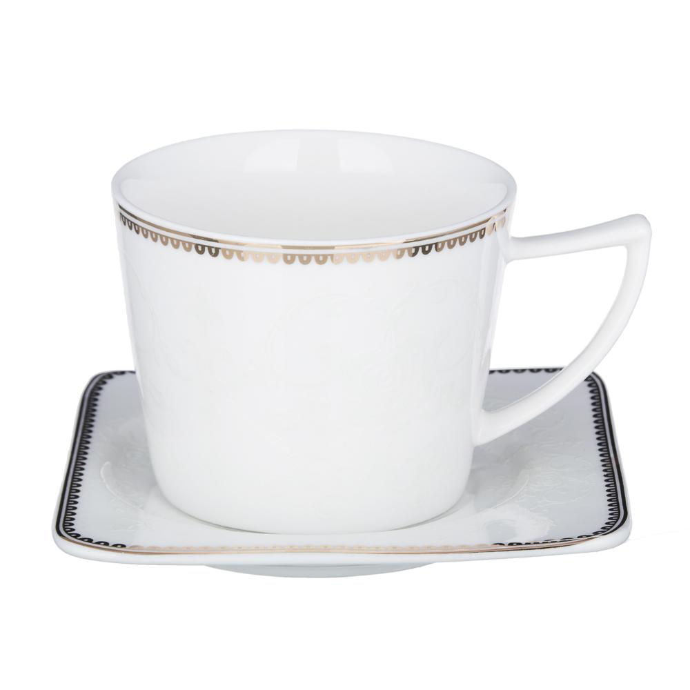 MILLIMI Катрин Набор чайный 4пр., 250мл, костяной фарфор