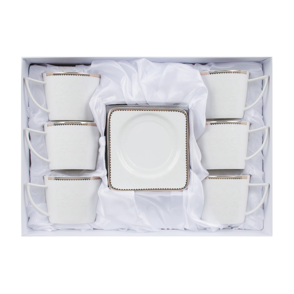 MILLIMI Катрин Набор чайный 12пр., 250мл, костяной фарфор