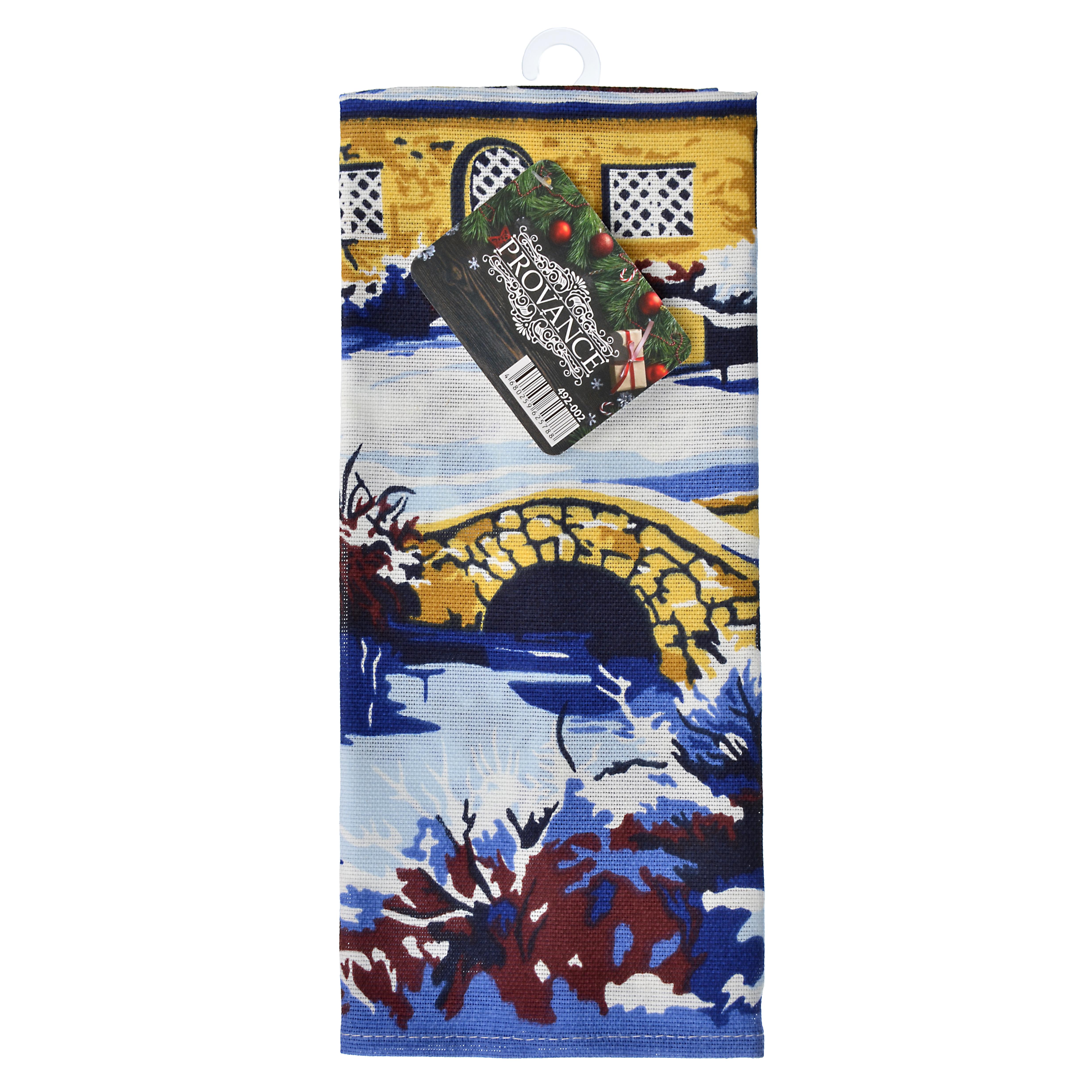 PROVANCE Зимняя сказка Полотенце кухонное, рогожка, 100% хлопок, 35х60см, 2 дизайна