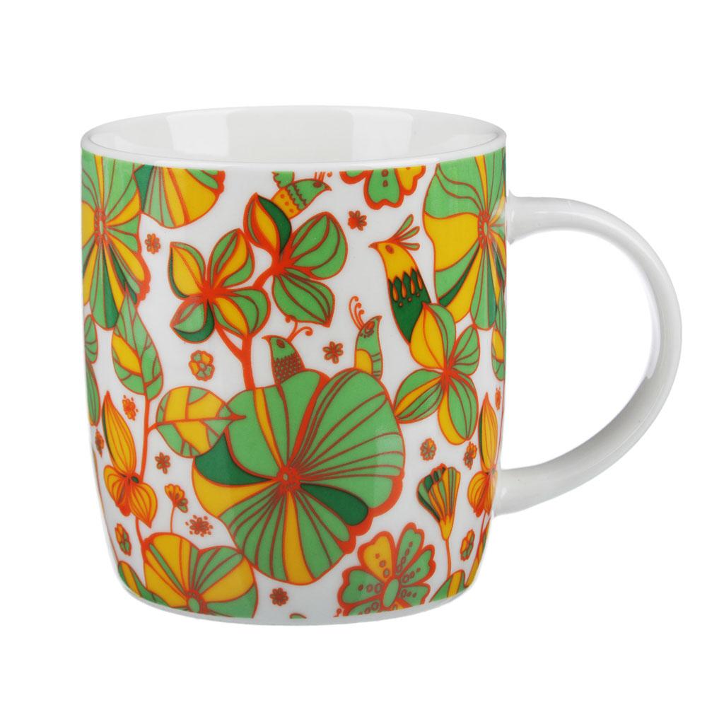 MILLIMI Вальс цветов Кружка 340мл, керамика, 4 дизайна