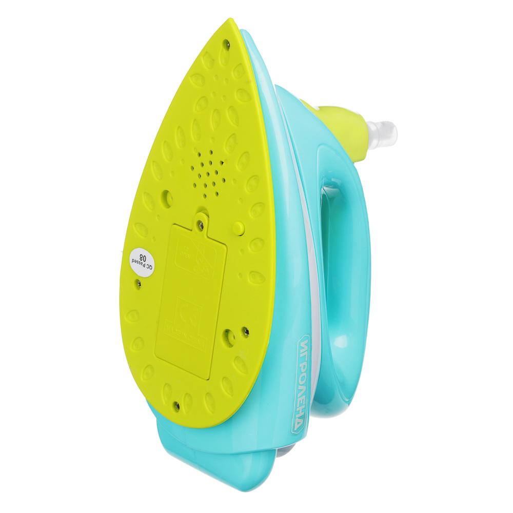 ИГРОЛЕНД Игрушка быт.техника: утюг 2хАА / чайник 3хАА, свет,звук, ABS,24х10х18см