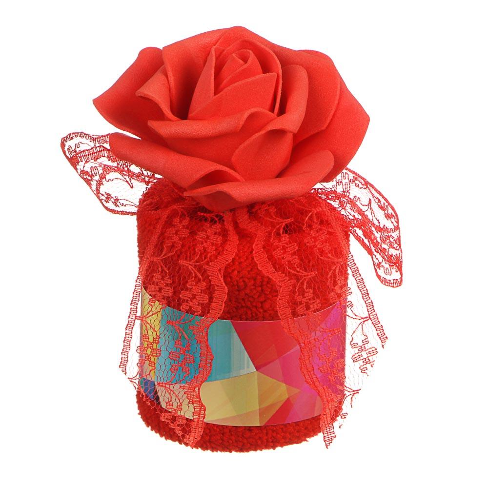 Салфетка подарочная для уборки, (20х20см), 10х7см; 13,5х6см, 80% полиэстер, 20% нейлон, 6 цветов