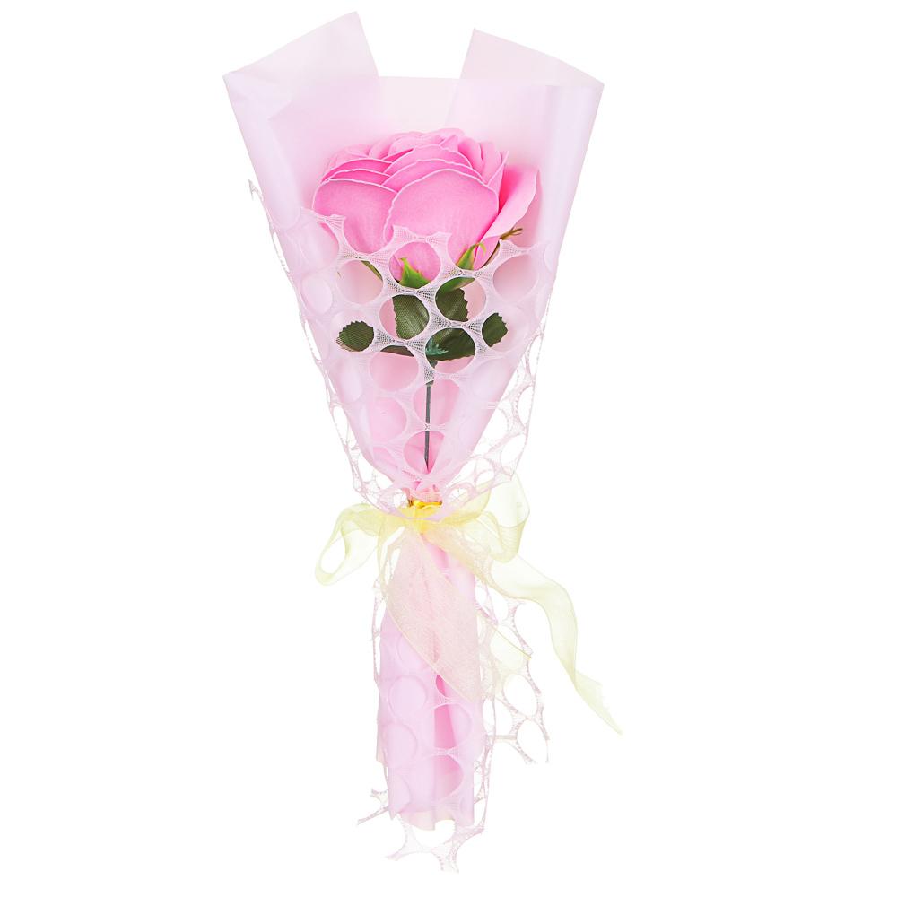 LADECOR Лепестки мыльные в форме розы, 27-28,5см, 6 цветов